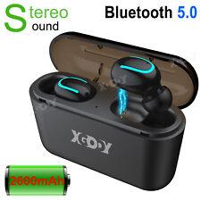 In-Ear Kopfhörer Bluetooth 5.0 Kabellos Stereo Headset TWS Ohrhörer mit Ladebox?