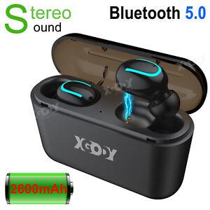 In-Ear Kopfhörer Bluetooth 5.0 Kabellos Stereo Headset TWS Ohrhörer mit Ladebox❥