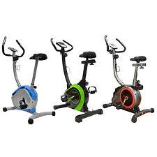ENJOYFIT Heimtrainer Ergometer Fahrradtrainer Hometrainer mit Handpuls-Sensoren