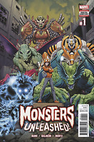 MONSTERS UNLEASHED #1 ARTHUR ADAMS COVER KID KAIJU MARVEL COMICS