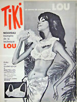 PUBLICITÉ DE PRESSE 1964 TIKI UN AMOUR DE SOUTIEN-GORGE LOU - DESSIN BRENOT