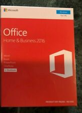 Microsoft Office Home and Business 2016 PC licencia para Windows clave de producto