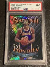 1998 Topps Roundball Royalty Refractor Kobe Bryant R18 PSA 9 MT New Slab🔥RARE!!