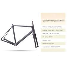 Carbon Di2 Bike Cyclocross Frame&Fork Framesets UD Matt 51.5cm or 56cm BB86.5