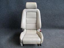 RECARO Sportsitz Beifahrersitz Audi A8 S8 D2 Ausstattung LEDER Sitz vorne BEIGE