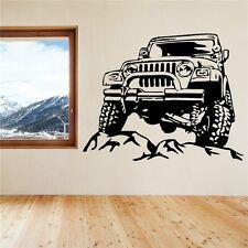4x4 Offroad Jeep Wall Tattoo Wallpaper Wall Decoration 57 x 45 CM WALL PICTURE
