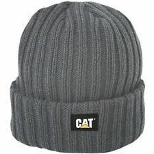 Caterpillar Rib Watch Men's One Size Graphite Acrylic Knit Black Hat