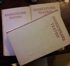 "SHAKESPEARE ""Teatro Vol 1 - 2 - 3"" tomi 3"