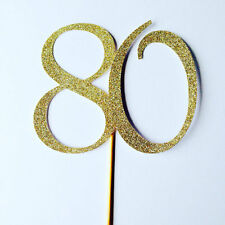30 40 50 60 70 80 90 birthday large gold glitter cake topper, party,gold party.