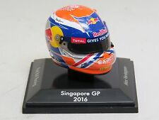 Max Verstappen 1/8 Helmet SINGAPORE Grand Prix 2016 Special Edition Red Bull