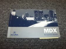 2006 Acura MDX Navigation System Owner Owner's Operator User Guide Manual 3.5L