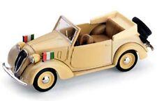BRUMM R85 FIAT 508C 1100 cabriolet HP32 diecast car Italian flags 1939 1:43