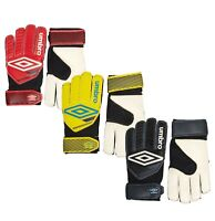Boys Umbro Sport Soccer Goalkeeper Training Football Gloves Sizes from 4 to 7