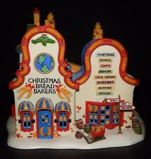 DEPT 56 NORTH POLE CHRISTMAS BREAD BAKERS Lighted House Heritage Village  #56393