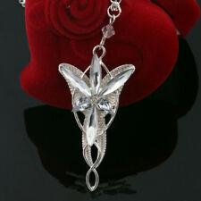 Fashion Women Crystal Elf Princess Arwen's Evenstar Pendant Jewerly Necklace