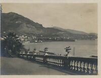Monaco Monte-Carlo Costa Azure Foto Hobbisti Vintage Analogica Verso