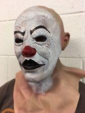 2 Guns Clown Mask Halloween Fancy Dress Costume Two Bank Robber Heist Costume