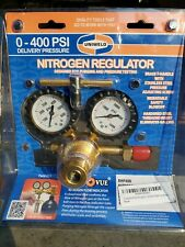 Uniweld Rhp400 Nitrogen Regulator 0 To 400 Psi Delivery Made In Usa