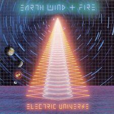 EARTH, WIND & FIRE - ELECTRIC UNIVERSE 2015 REMASTERED CD 1983 LP + BONUS MIXES