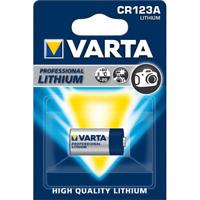 1x Varta CR123 Photo Lithium Batterie CR123 A 3V (Blister)