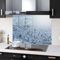 Shades Light Cream Toughened Glass Kitchen Splashback Panels Any Size /& Colour