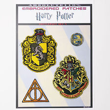 """HARRY POTTER """"HUFFLEPUFF"""" House Patches - Iron-On Patch Mega Set #51 - FREE POST"""