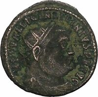 Licinius I Constantine The Great enemy 321AD Ancient Roman Coin Jupiter i45958