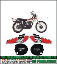 kit adesivi stickers compatibili xt 500 1976