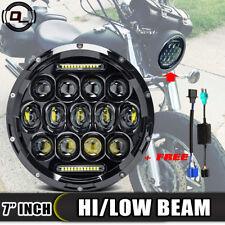 "7"" Inch LED Headlight Fit Yamaha V-Star Vstar XVS 650 Classic 1998-2009 XVS1100"