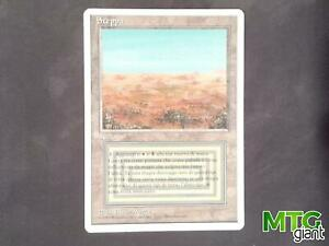 1X Scrubland - Revised Edition - Italian, EX/MP MTG CARD