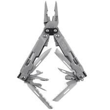 SOG PowerAccess Deluxe MultiTool Stonewash Stainless Steel PA2001