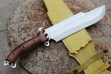 "10"" Predator Survival Knife, Hand Forged Full Tang Blade Machete Kukri by EGKH"