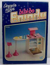 EL GRECO VTG 80's BIBI-BO BIBI BO KITCHEN PLAYSET FOR DOLL HOUSE MIB NEW