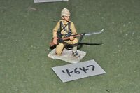 65mm colonial / british - figs beau geste infantry metal painted - inf (4647)