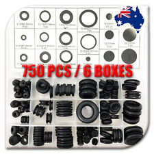 NDI 750PCS RUBBER GROMMET ASSORTMENT FASTENER KIT PROTECTIVE RING ND-0901