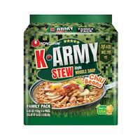 Nongshim K-Army Korean Army Stew Ramen Noodle 4 Packs