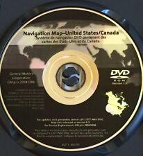 2007-2012 Escalade Acadia Enclave Outlook Traverse Navigation DVD Version 9.3