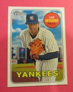 2018 Topps Heritage, New York Yankees - LUIS SEVERINO - Dominican Republic