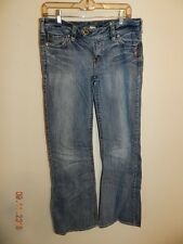 Silver Jeans Tina Boyfriend Style Distressed Light / Med Wash size 31x32 1/4""
