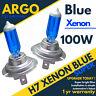 H7 100w Brillante Ventilador Azul Xenon Faros Mejorados Bombillas 499 12v Full /