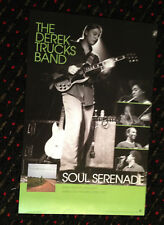 The Derek Trucks Band orig Soul Serenade 11x17 record store promo poster 2003