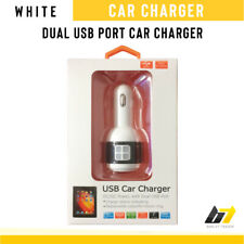 2.4A Universal Dual Port USB Car Charger Adapter For All Smartphone & Tablets UK