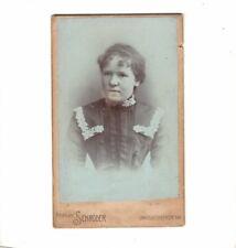 CDV Foto Damenportrait - Berlin um 1900