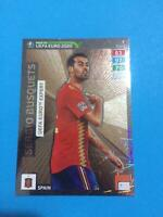 EXPERT SERGIO BUSQUETS ROAD TO UEFA EURO 2020 PANINI ADRENALYN XL RARE N 7 NEW