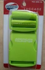 American Tourister Security Luggage Strap  Green   - FREE SHIPPING