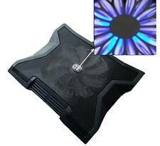 "Notebook Kühler mit 23cm Großer Lüfter Laptop Cooler Pad 15-16-17"" Zoll Maxi Fan"