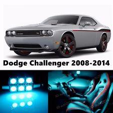 14pcs LED ICE Blue Light Interior Package Kit for Dodge Challenger 2008-2014