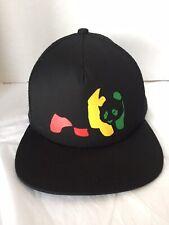Enjoi Skateboard Hat Baseball Cap Panda Logo Graphic Black Red Green Enjoy