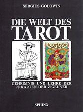 DIE WELT DES TAROT - Geheimnis und Lehre der 78 Karten der Zigeuner - S. Golowin
