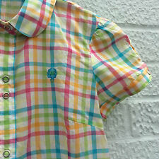 Fred Perry Checked Short Sleeve Tops & Shirts for Women